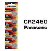 パナソニック リチウムボタン電池 CR2450 5個セット 1シート 日本メーカー 逆輸入