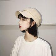 ★2019春夏新作★リボン 日除け 日焼け止め 綿麻 ベレー帽 ハット ファッション