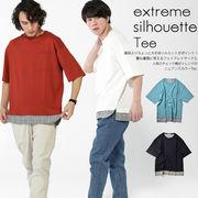 【19SS新作】ミニ裏毛フェイクTシャツ