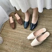 サンダル レオパード シンプル レディースファッション 韓国