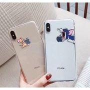 ★NEW★シンプルな可愛いプリントジェリーケース★iPhone11Promax