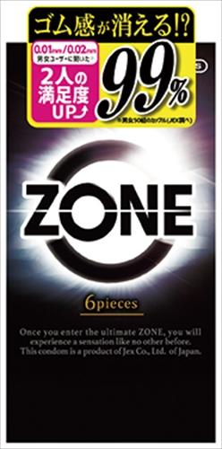 ZONE(ゾーン)6個入り 【 ジェクス 】 【 コンドーム 】