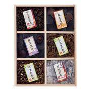 (食品)(のり・佃煮)万味豊秀 塩昆布・佃煮6品詰合せ 201-03