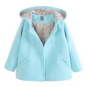 春服 韓国風 新しいデザイン 女児 アウターウェア キッズ洋服 ダブルブレスト 手厚い