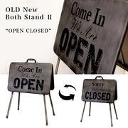 【Old New】Both スタンドプレート2  OPEN&CLOSED 両面タイプ★