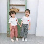 キッズ 半ズボン ストライプ 格安 ストリート デニム 短パン  女の子 韓国子供服【SALE】