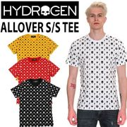 【HYDROGEN】(ハイドロゲン) ALLOVER T-SHIRT / 半袖 Tシャツ 4色