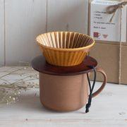 【ギフトセット箱入り】おひとりさまコーヒーセット コーパル&マットブラウン[H961][美濃焼]