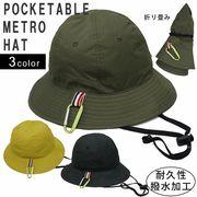 帽子 ハット メンズ レディース HAT メトロハット マウンテンハット 撥水 キーズ Keys