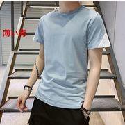 バイカラーTシャツ メンズファッション 袖切替 半袖カットソー