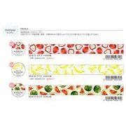 【Papier Platz】デザイナーズ マスキングテープ moriyue(もりゆえ) 3種 2019_4_18発売