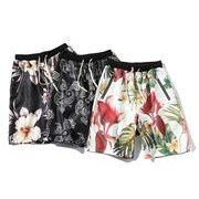 メンズ半ズボン パンツ ショート ハーフパンツ 大きいサイズ カジュアル 花柄