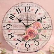 ローズ壁掛時計