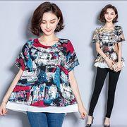 【大きいサイズXL-5XL】ファッションキャミソール♪イエロー/アカ2色展開◆