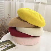 帽子 ハット レディース 夏 日焼け止め つば広帽子 麦わら帽子 ベレー帽 ファッション  10色