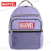 ポリMARVELメッシュDパック / 通勤 通学 マーベル ロゴ 刺しゅう リュック メンズバッグ レディースバッグ