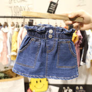 2019新作★キッズ用★キッズ女の子 ボトムス スカート★ 90cm-130cm