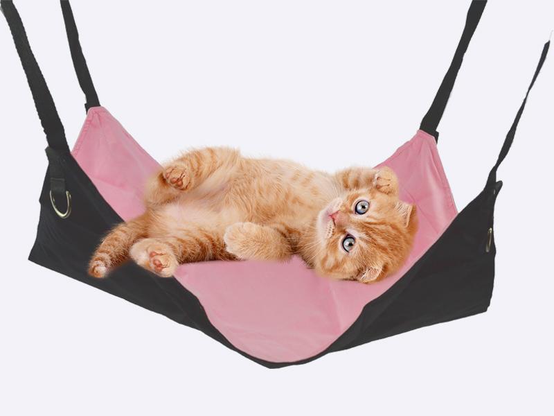 猫用 ハンモック ピンクカラー