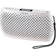 オーム電機 Audio Comm ポータブルCD/MP3/ラジオ(ホワイト)