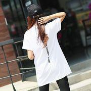 【即納】バックプリントTシャツ トップス ロゴT カットソー rss-004【メール便可】新作
