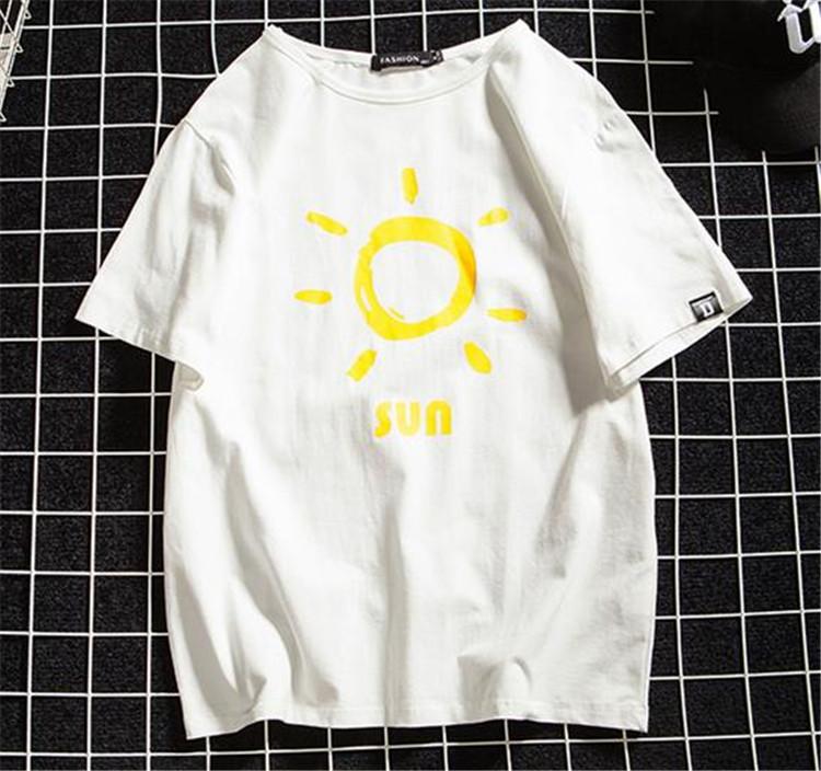 特別にSALEします 2019春夏新作 /大きいサイズ/ゆったりする/プリント/ラウンドネック/五分袖/Tシャツ
