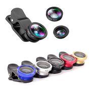 【1個190円】スマホセルカレンズ 超広角 カメラ 広角 レンズ マクロ 魚眼 広角レンズ セルフィ iPhone