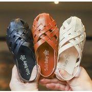 【子供靴】サンダル 男女兼用 可愛いデザイン ベビー 135-210mm 3色 シューズ キッズ靴