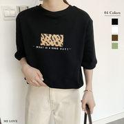 厚手ロゴTシャツ