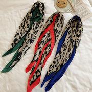 ファッション新作  スカーフ 日焼け止め UVカット 夏 韓国 レオパード ヘアバンド