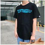 【即納】★両面プリントTシャツ★2色 ホワイト ブラック  大きいサイズ ストリート