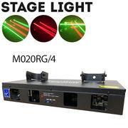 舞台照明 M020RG4 レーザーライト レッド/グリーン コンセント式 屋内用 DMX対応