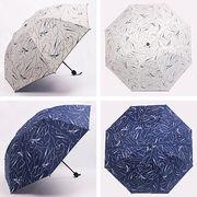 【即納】【2019春夏新作】19ss-049 傘 雨傘 日傘 晴雨兼用 折り畳み 柄 コンパト オシャレ