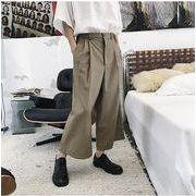 【春夏新作】ファッション/人気パンツ♪ブラック/カーキ2色展開◆