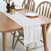 激安☆★ins北欧キッチン用品◆装飾◆ブリッジランナー◆テーブルランナー◆花柄刺繍レース サイズ選択