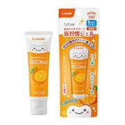テテオ 歯みがきサポート新習慣ジェル オレンジ味