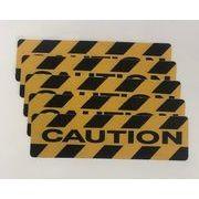 TSM ノンスリップシート CAUTION PVC 3枚セット