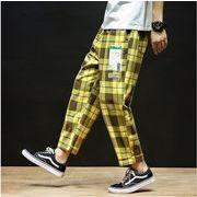 【大きいサイズM-5XL】【春夏新作】ファッション/人気パンツ♪イエロー/ブルー2色展開◆
