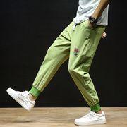 【大きいサイズM-5XL】ファッション/人気パンツ♪グリーン/カーキ2色展開◆