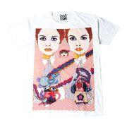 プリントTシャツ Psychedelic Art メンズ/レディース/半袖/おもしろ/おしゃれ