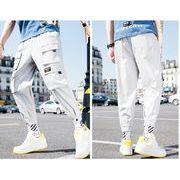 【大きいサイズM-5XL】ファッション/人気パンツ♪グレー/ブラック2色展開◆