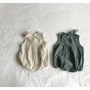 ★ベビーロンパース 女の子 男の子 ベビー カバーオール オールインワン 麻綿