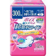 ポイズパッド 超吸収ワイド 女性用 12枚 【 日本製紙クレシア 】 【 介護用品 】