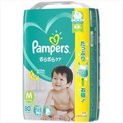 パンパース さらさらケア テープ ウルトラジャンボ Mサイズ 80枚 【 P&G 】 【 オムツ 】