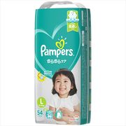 パンパース さらさらケア(テープ) スーパ-ジャンボ Lサイズ 54枚 【 P&G 】 【 オムツ 】