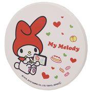 【食器】マイメロディ 吸水コースター/お絵かき
