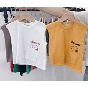 ★新作アパレル★子供 男女兼用 袖無し Tシャツ★トップス★タンクトップ