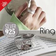 vnsh000588◆5000以上【送料無料】◆シルバー925リング◆開口指輪 シンプル