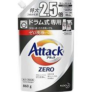 【在庫限り】花王 アタックZERO ドラム式専用 詰替 860g