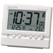 リズム 電波デジタル目覚まし時計