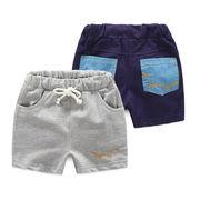 夏服 韓国風 新しいデザイン シンプル ポケット 男児 キッズ洋服 赤ちゃん 児童 ホッ